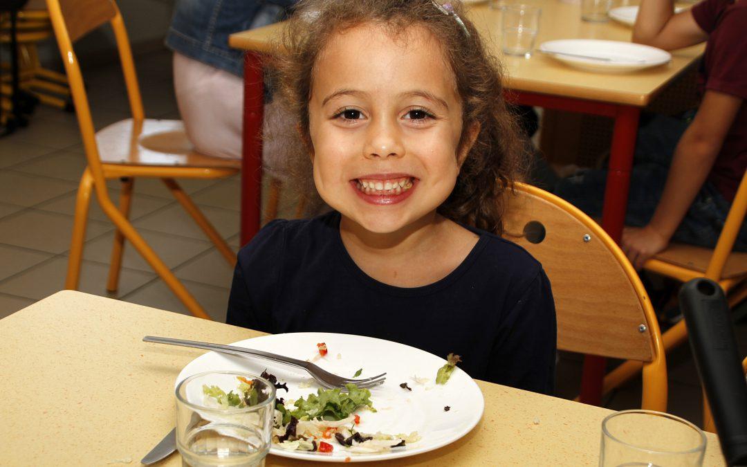 Menu de la Semaine du Gout au Restaurant Scolaire de Fourques