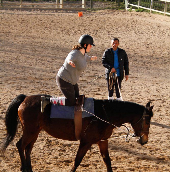 Journée Sport et Equitation vacances d'hiver